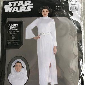 Star Wars Princess Leia Adult Costume! New!